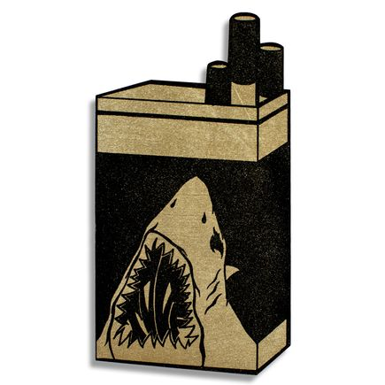 Shark Toof Hand-painted Multiple - Shark Icon - Gold Variant
