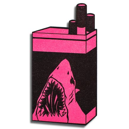 Shark Toof Hand-painted Multiple - Shark Icon - Pink Variant
