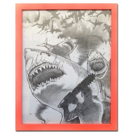 Shark Toof Original Art - Sharknado