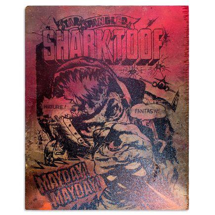 Shark Toof Original Art - Star Spangled Fantasy 2 - Original Painting