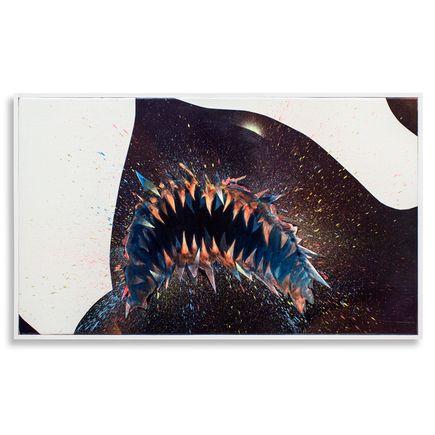 Shark Toof Original Art - Swarm Study A - Original Painting