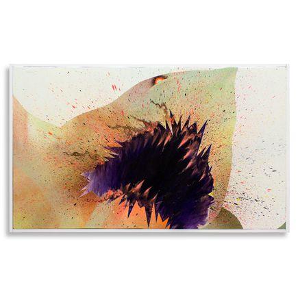 Shark Toof Original Art - Swarm Study B - Original Painting