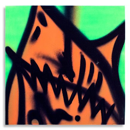 Shark Toof Original Art - Shark Toof Throw Up 01 - Original Painting