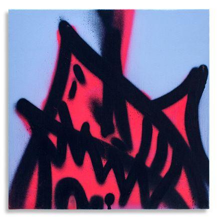Shark Toof Original Art - Shark Toof Throw Up 02 - Original Painting