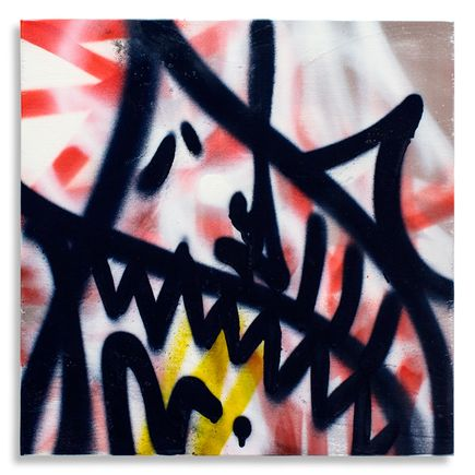 Shark Toof Original Art - Shark Toof Throw Up 04 - Original Painting