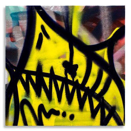 Shark Toof Original Art - Shark Toof Throw Up 05 - Original Painting