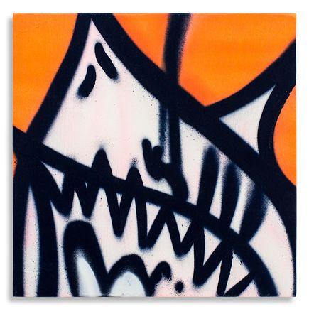 Shark Toof Original Art - Shark Toof Throw Up 06 - Original Painting