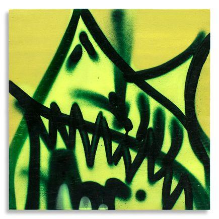 Shark Toof Original Art - Shark Toof Throw Up 07 - Original Painting