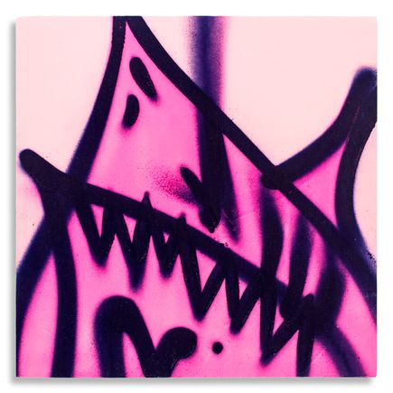Shark Toof Original Art - Shark Toof Throw Up 10 - Original Painting