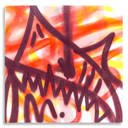 Shark Toof Original Art - Shark Toof Throw Up 11 - Original Painting