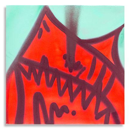 Shark Toof Original Art - Shark Toof Throw Up 13 - Original Painting