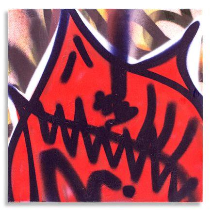 Shark Toof Original Art - Shark Toof Throw Up 14 - Original Painting