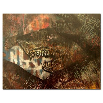 Shark Toof Original Art - We Are Sharks
