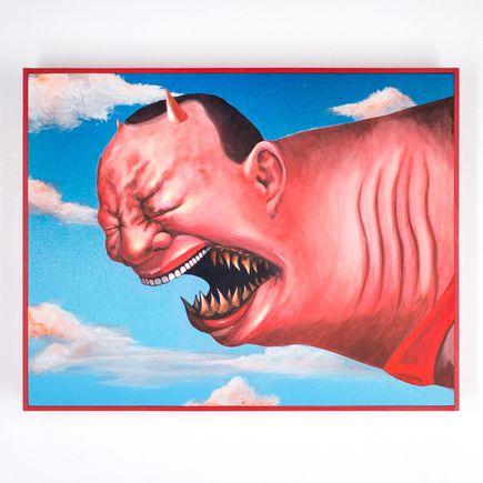 Shark Toof Art - Cici N est Pas Une Yue Minjun - Devil Edition