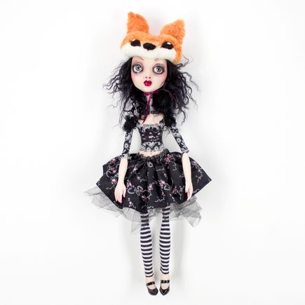Sheri DeBow Original Art - Little Fox Sister