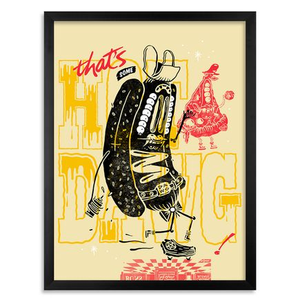 Sheryo & The Yok Art Print - Thats Some Hotdawg