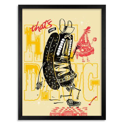 Sheryo & The Yok Art Print - Thats Some Hotdawg