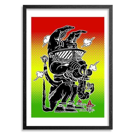 Sheryo & The Yok Art Print - LSD Kangaroo
