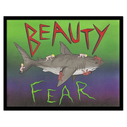Skinner Original Art - Beauty & Fear