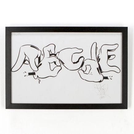 Slick Original Art - ABCDE - Original Artwork