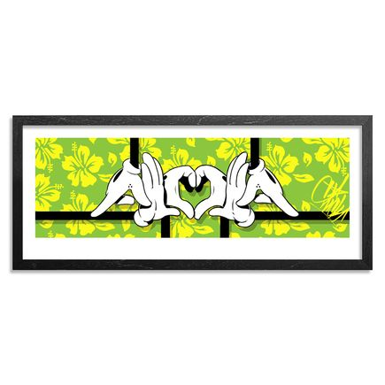 Slick Art Print - Green Edition - Big Slick Aloha