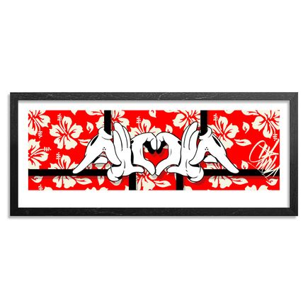 Slick Art Print - Red Edition - Big Slick Aloha