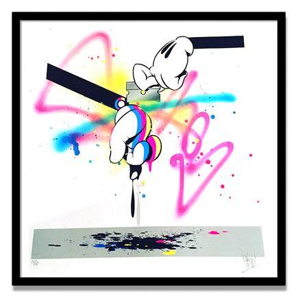 Slick Art Print - CMY Kutter - Hand-Embellished Edition