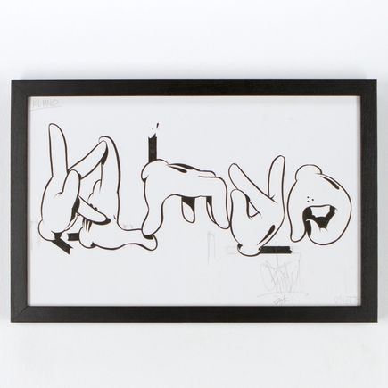 Slick Original Art - KLMNO - Original Artwork