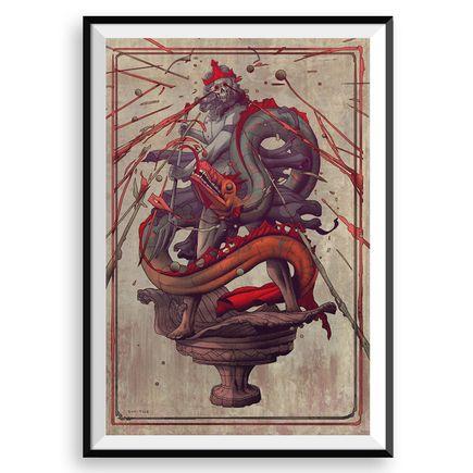 Smithe Art Print - La Furia De Neptuno