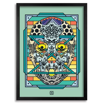 Sobekcis Art Print - Infinity Skull