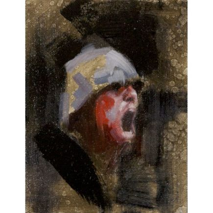 John Wentz Original Art - Solider No. 2 - Original Painting