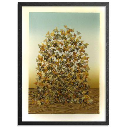 Sonia Romero Art Print - Bee Pile