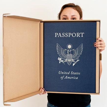 Tavar Zawacki Book - Passport - Clamshell Book