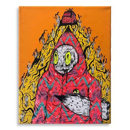 Spencer Keeton Cunningham Original Art - Skate Reaper