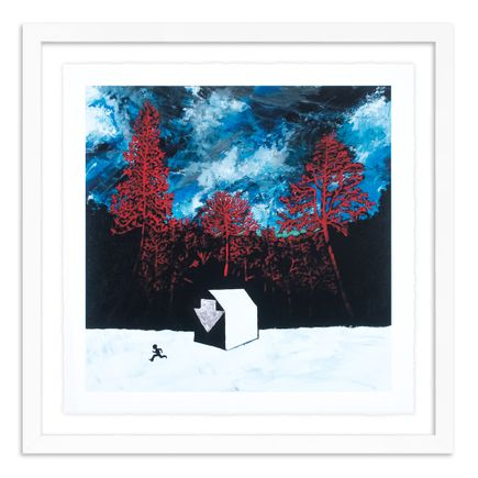 Stanley Donwood Art Print - Run