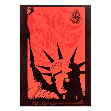 Mouse! Studios Art Print - Blood, Sweat and Tears - Avalon Ballroom - March 1968