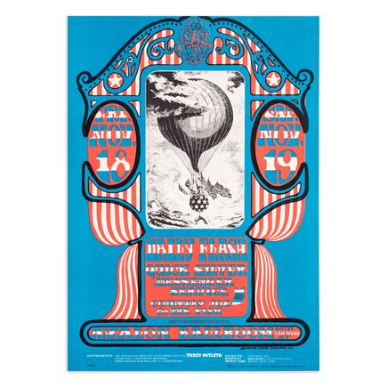 Mouse! Studios Art Print - Daily Flash - Quick Silver - Avalon Ballroom - 1966