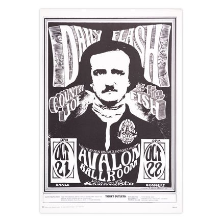Mouse! Studios Art Print - Daily Flash - Avalon Ballroom - 1966 - Third Printing