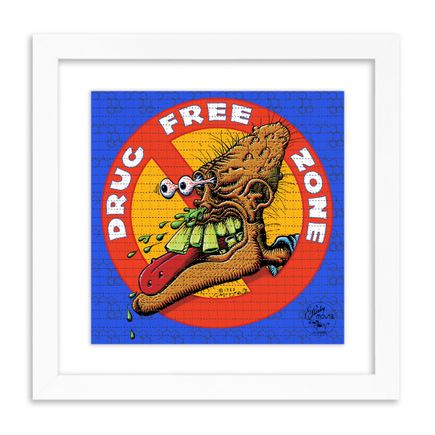 Stanley Mouse Art Print - Drug Free Zone - Blotter Edition