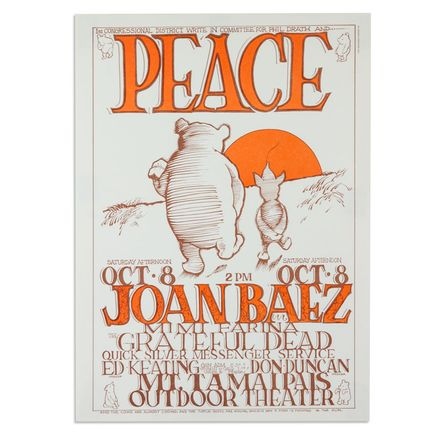 Mouse! Studios Art - Joan Baez, Grateful Dead