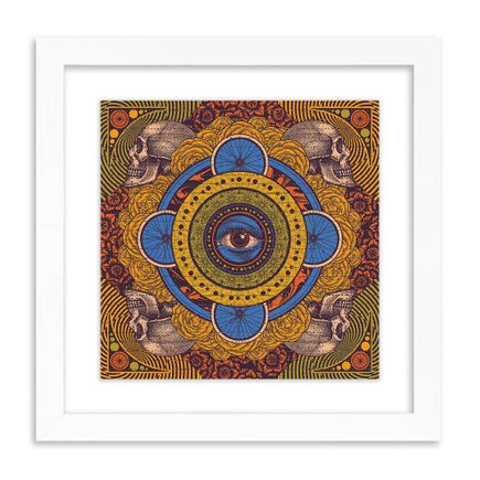 Status Serigraph Art Print - Lazy Summer Days - Blue Variant - Blotter Edition