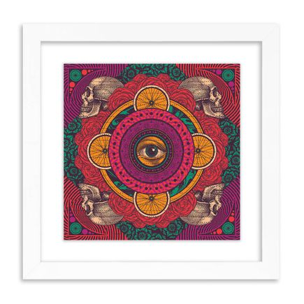 Status Serigraph Art Print - Lazy Summer Days - Red Variant - Blotter Edition