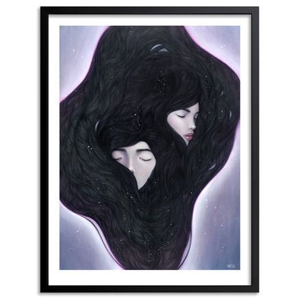 Stella Im Hultberg Art Print - If I Could Hide In Your Dreams