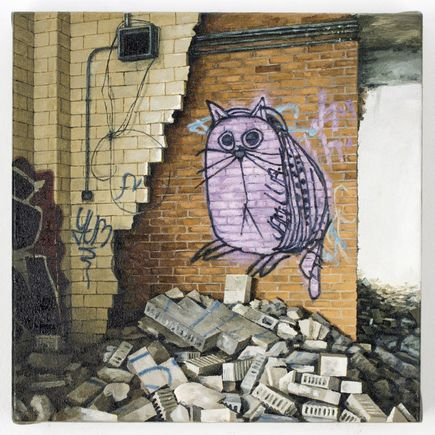 Stephanie Buer Original Art - Catbug
