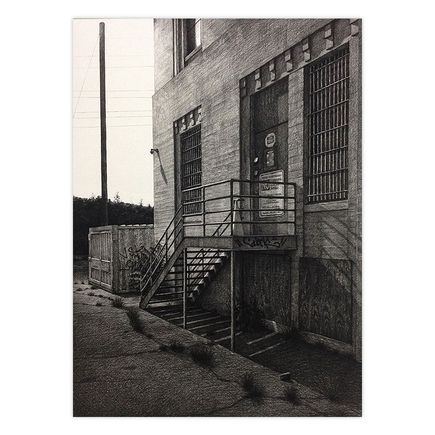 Stephanie Buer Original Art - Lincoln Heights Jail