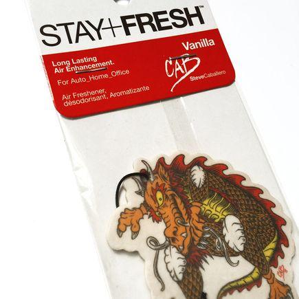 Stay+Fresh Art - Steve Caballero Cab Dragon Air Freshener