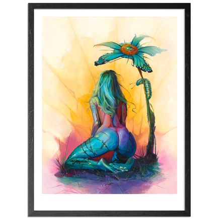 Steven Lopez Art - Butterfly Trap - Framed