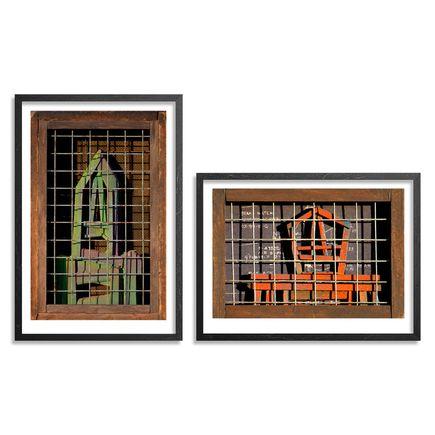 Stikman Art Print - Large Box | Small Box - 2-Print Set