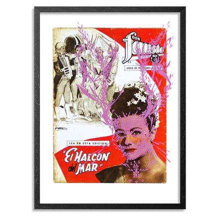 Stinkfish Art Print - El Halcon del Mar - Pink Edition