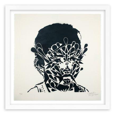 Stinkfish Art Print - Cambodia Thorns Girl - Variant 2 - Hand-Painted Multiple